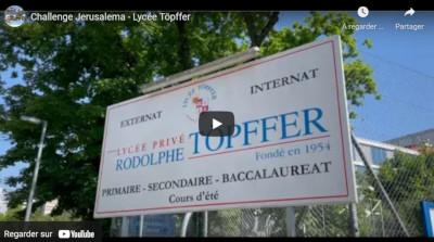 Jerusalema challenge au Lycée Töpffer