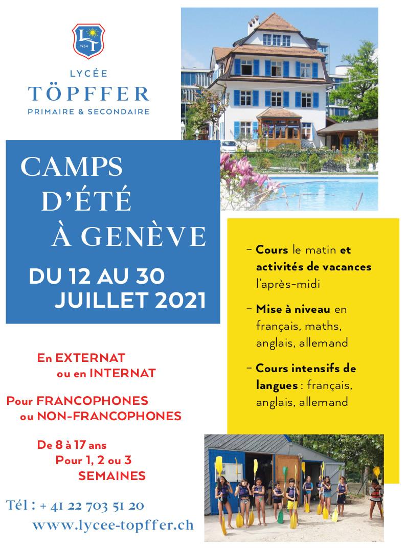 Program for summer camp 2021