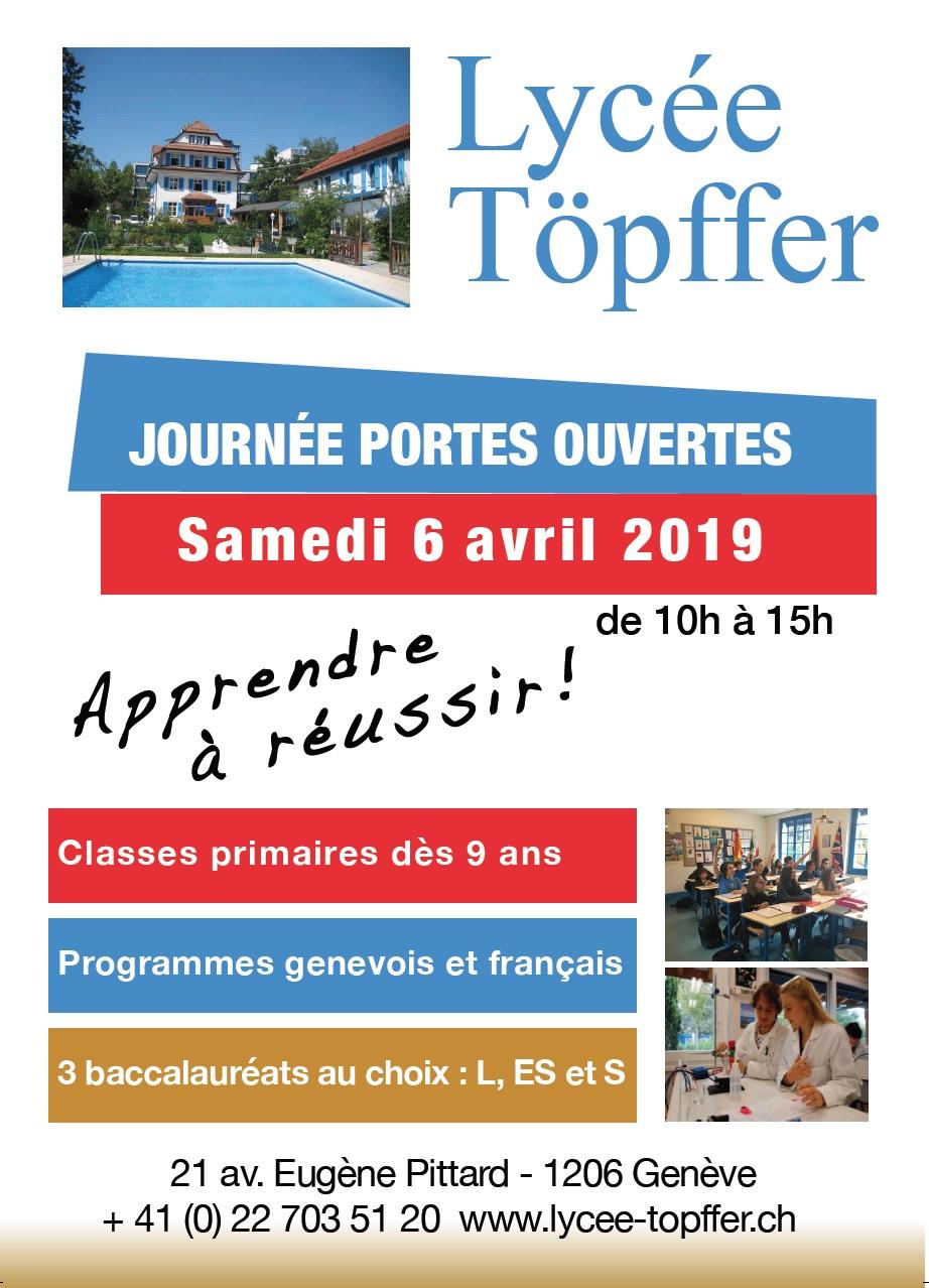 Lycée Privé Rodolphe Töpffer Portes Ouvertes 2018