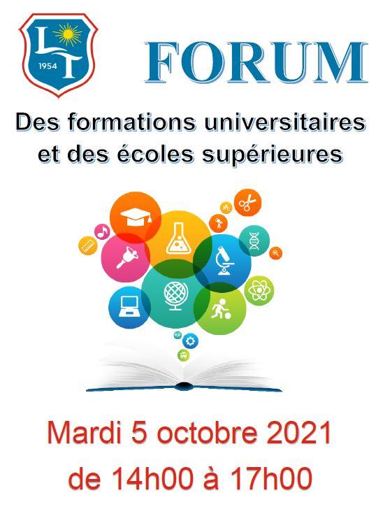 Forum des universités 2021